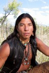Native American man handsome