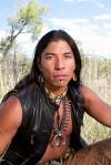 Native American man handsome