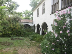 Casa Cholama, the inspiration for Ginny's home in Cholama Moon (Located in the Cholama Valley, CA)