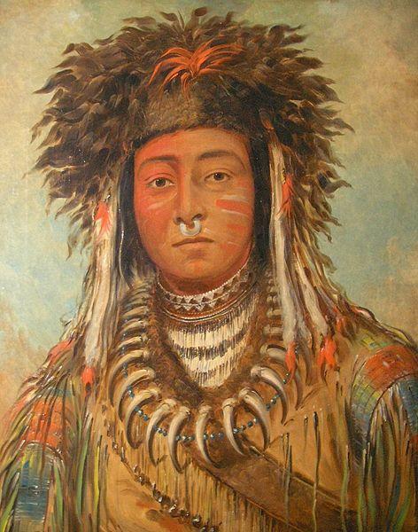Boy Chief, Ojibbeway, ca. 1843