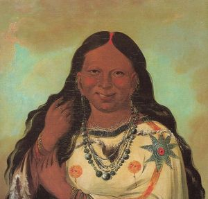 Ojibwa woman, ca. 1832