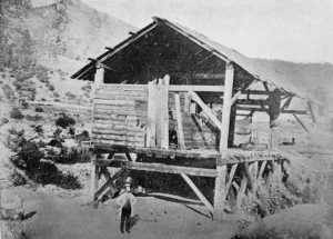 James W. Marshall at Sutter's Mill, 1850