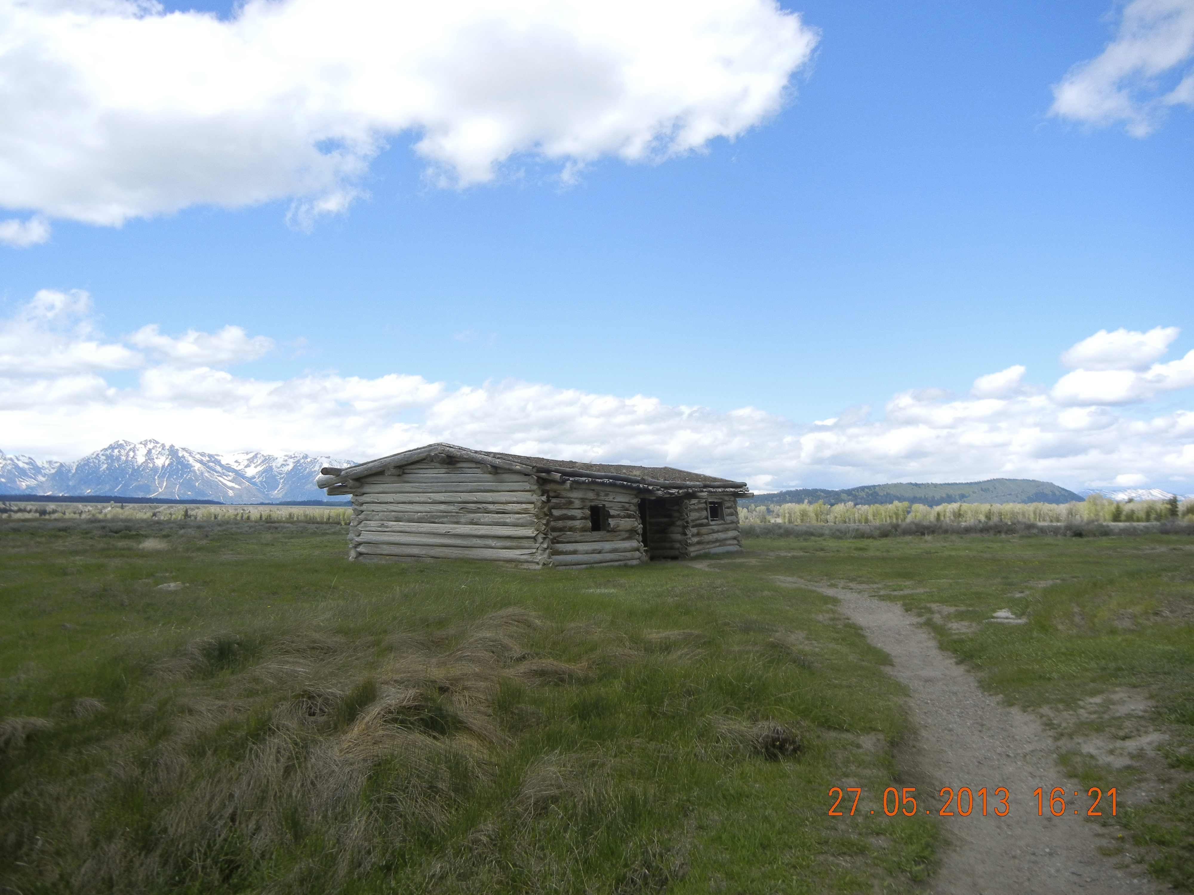 Wyoming andrea downing for Stazione di jackson hole cabin