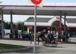 A fill-up at the pumps?