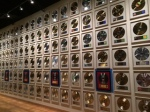 Wall of Gold Records at Country Music Hall of Fame