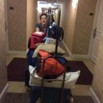 Cristal moving luggage
