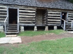 Slave Quarters at the plantation