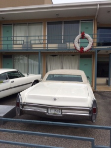 The Lorraine Motel--now the National Civil Rights Museum