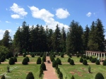 The 'Old Fashioned Garden' at Sonnenberg Mansion
