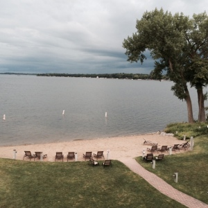the beach at Detroit Lakes