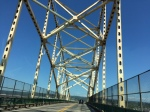 The International Bridge connecting Michigan & Canada