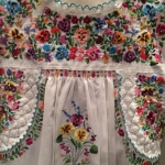 Mexican hand-embroidery
