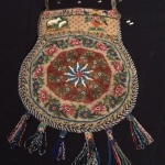Mexican hand-beaded bag