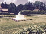 FDR's grave in the rose garden